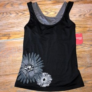 DANSKIN NOW Yoga top/NWT/4-6(S)